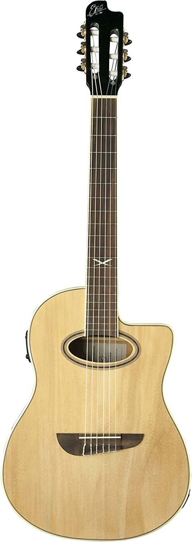 EKO Guitarras NXT Nylon Cut EQ Nat - Guitarras acústicas: Amazon ...