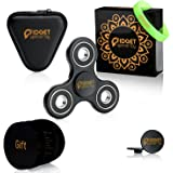 Fidget Spinner Toy EDC Hand Spinners | Ceramic Bearings Glow Finger Spinner, Perfect for ADHD & ADD