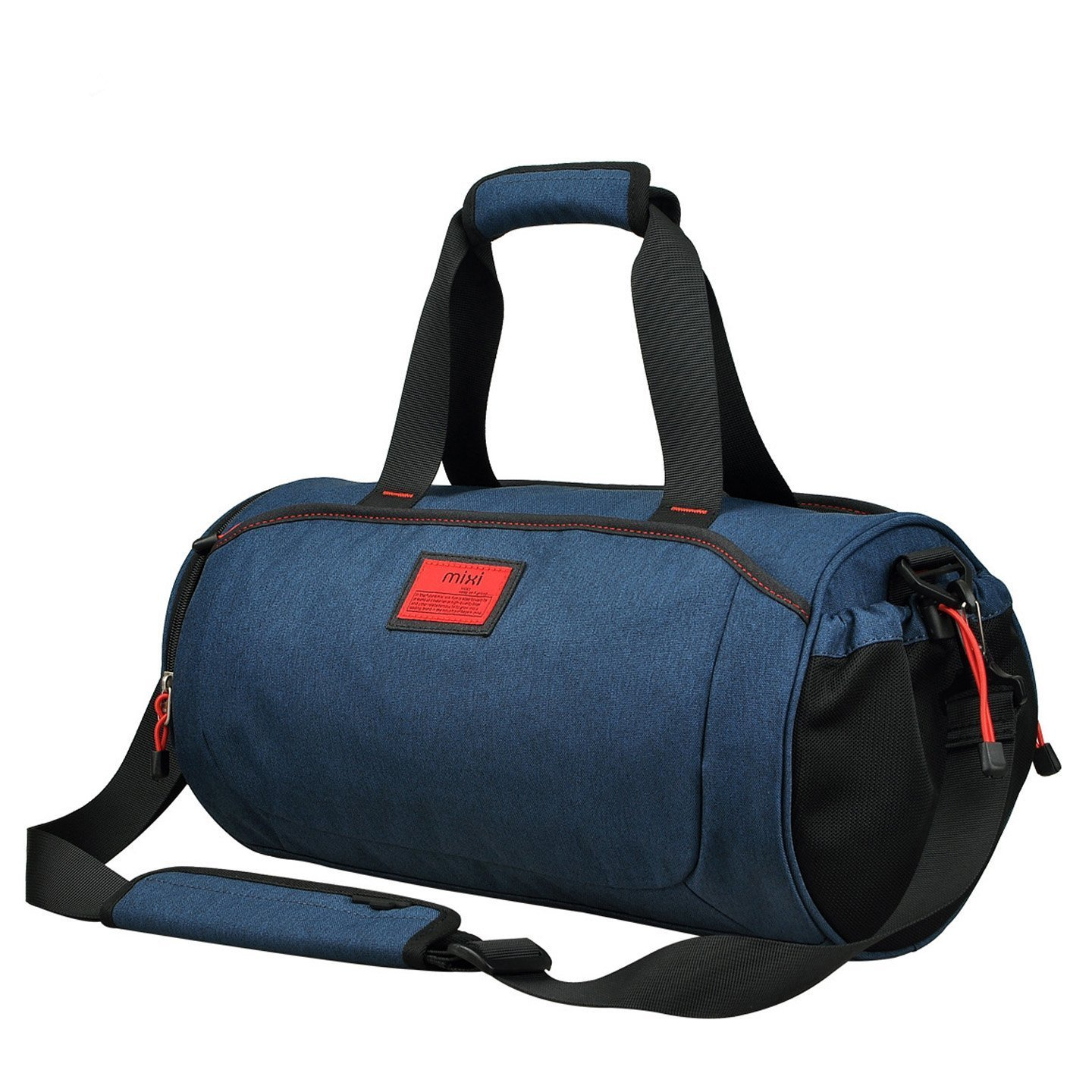 Cool NEW Duffel Style Carry On Sports Travel Bag with Shoulder Strap, Zippered Compartments