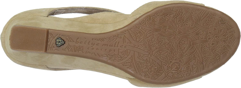 9.5 Medium US whey Bettye Muller Womens Shaye Wedge Sandal