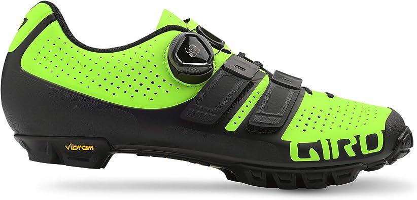 Giro Code Techlace MTB, Zapatos de Bicicleta de montaña para ...