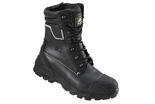 Rock Fall Tungsten RF15 Black S3 High Leg Steel Toe Cap Waterproof Safety Boots
