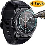 KIMILAR Samsung Galaxy Watch Pellicola Protettiva 46mm, [3 Confezioni] 9H Durezza Anti-graffio Anti-bolle Pellicola Vetro Temperato per Samsung Galaxy Watch (46mm) (Gear S3)