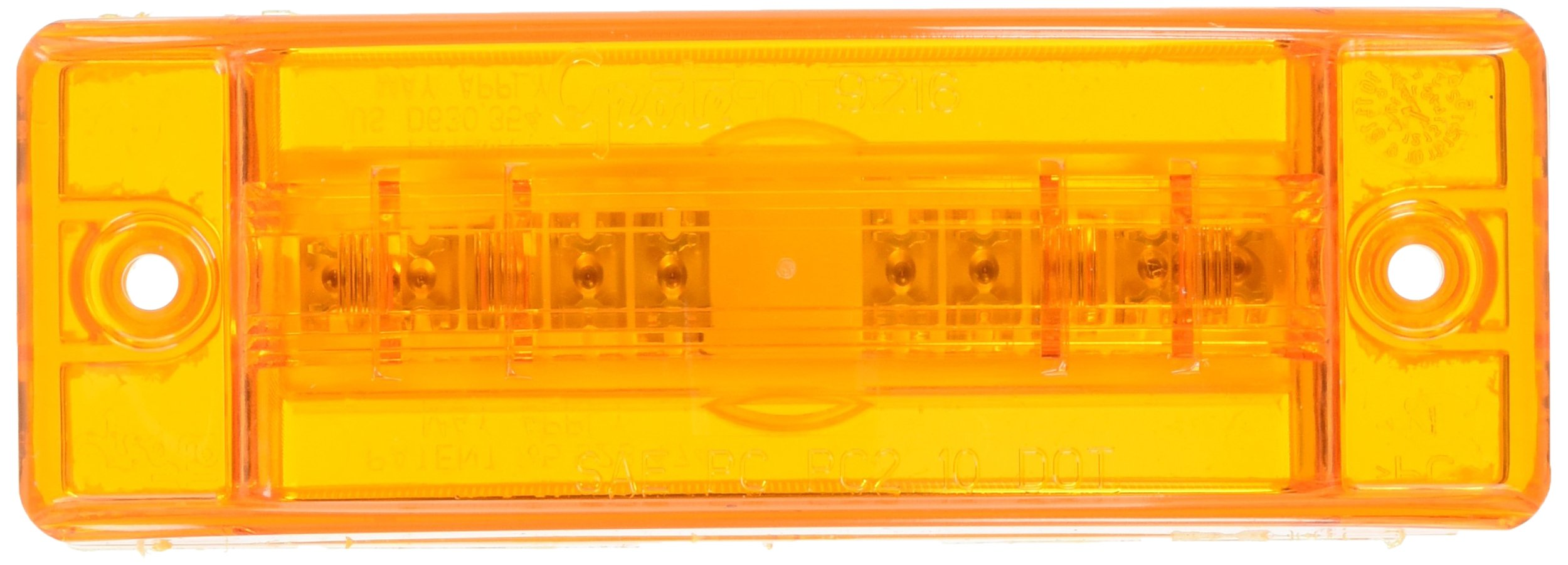 Grote 54003 SuperNova Sealed Turtleback II LED Clearance Marker Light by Grote