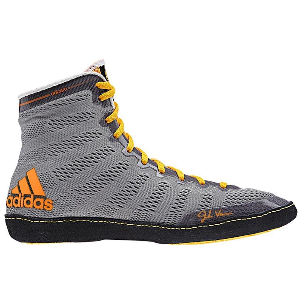 gris noir Solar Gld 47 1 3 EU Adidas Adizero Varner Wrestling chaussures, Royal   blanc   noir, 4 M Us