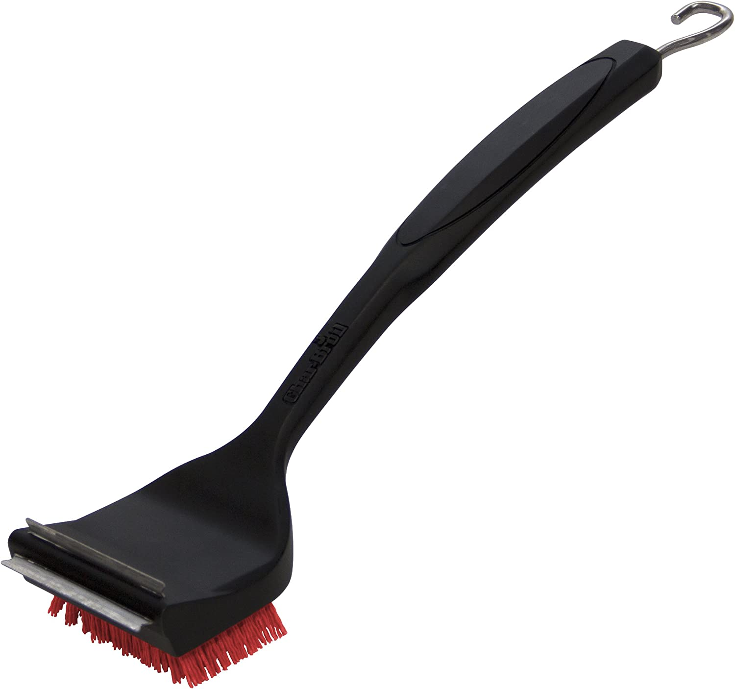 Char-Broil 8666894 SAFER Replaceable Head Nylon Bristle Grill Brush with Cool Clean Technology, One Size : Garden & Outdoor