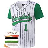 dfa0fe6c749 AFLGO G-Baby #1 Jarius Evans Hardball Kekambas Men's Movie Baseball Jersey  M-