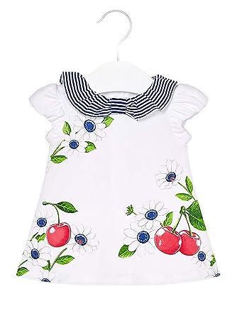 Mayoral, Vestido para bebé niña - 1841, Azul: Amazon.es ...