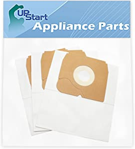 Upstart Battery 3 Replacement for Eureka 900A Ready Force Canister Canister Vacuum Cleaner Bags - Compatible with Eureka 68937, CN-4 Vacuum Bags
