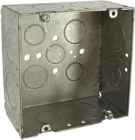 "10 3//4/""x 4 3//4/""x 3//8/"". Formed Steel Enclosure Top"