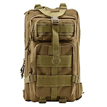 TOPQSC Military Tactical Backpack, Fashionable 30L 45 Waterproof Rucksack  School Daypack Hiking Mountaineering Biking Outdoor Military Tactical  Rucksack ... 2dd1176a08