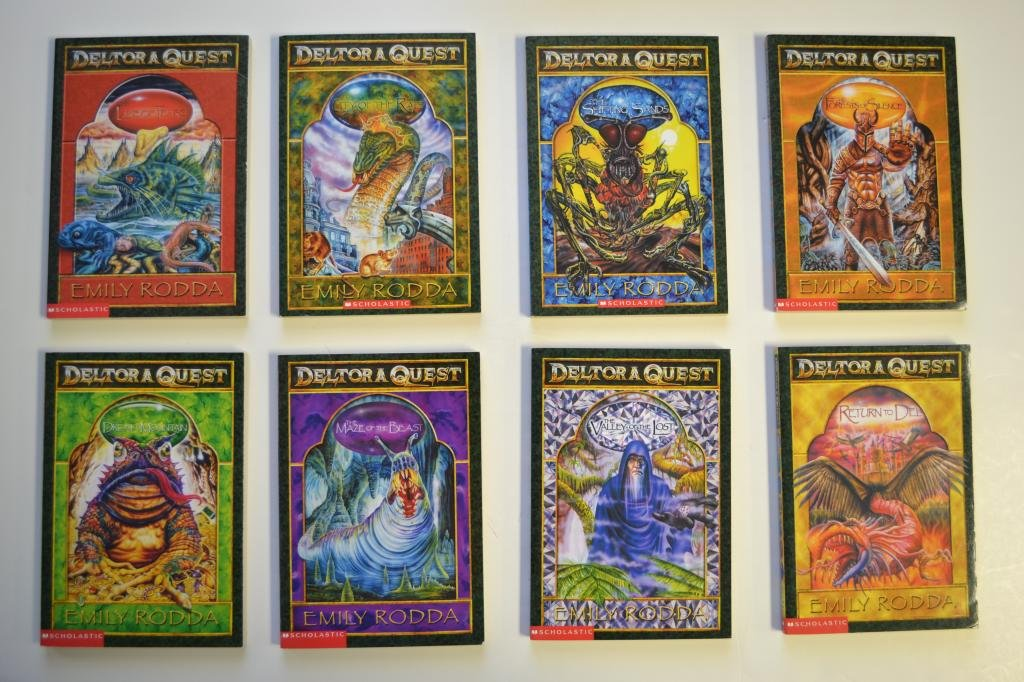 Deltora Quest Complete Boxed Set Books 1 8 The Forests Of Silence The Lake Of Tears City Of The Rats The Shifting Sands Dread Mountain The Maze Of The Beast The Valley Of