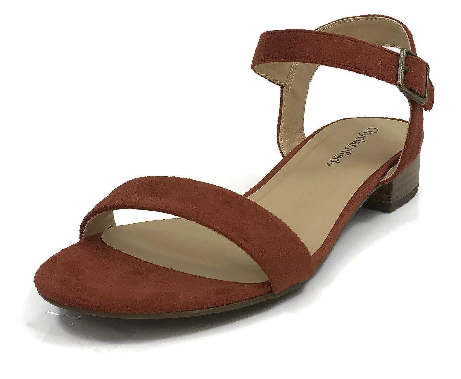 City Classified Women's Open Toe Ankle - 3
