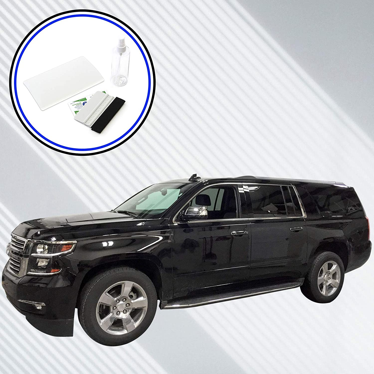 Red Hound Auto Touch Display Protector 2015-2019 Compatible with Chevy Suburban Tahoe MyLink GMC Yukon XL Intellilink Screen Saver Custom Fit Invisible High Clarity Minimizes Fingerprinting 8 Inch