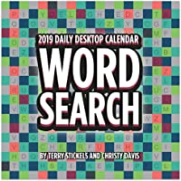 2019 Word Search Daily Desk Calendar