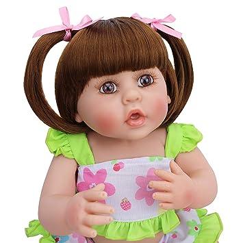 Amazon.com: PURSUEBABY Pursue - Muñeca de bebé recién nacido ...