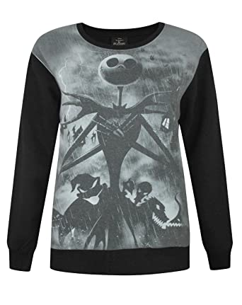 disney official nightmare before christmas sublimation womens sweater - Nightmare Before Christmas Clothing