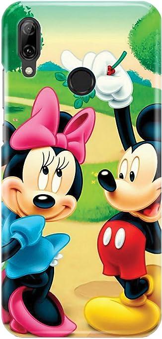 Case Me Up Coque téléphone pour Huawei P Smart 2019 Mickey Mouse Sweet Disney Cute 20 Dessins