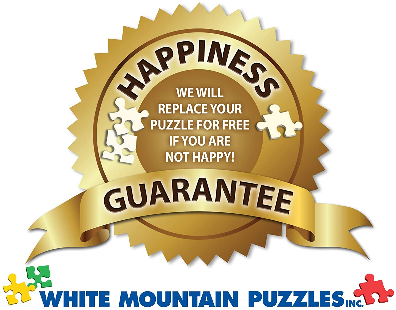 White Mountain Decorating The Tree 1000 Piece Jigsaw Puzzle
