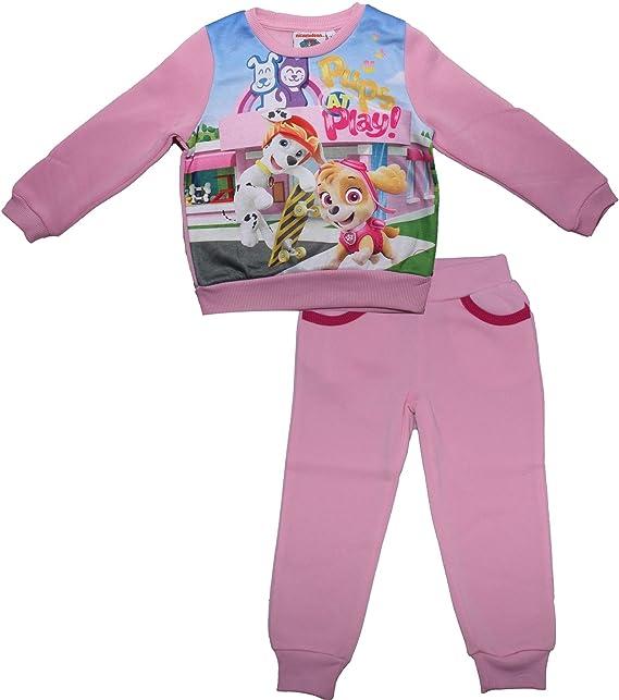Chandal niña Paw Patrol color rosa talla3: Amazon.es: Ropa y ...