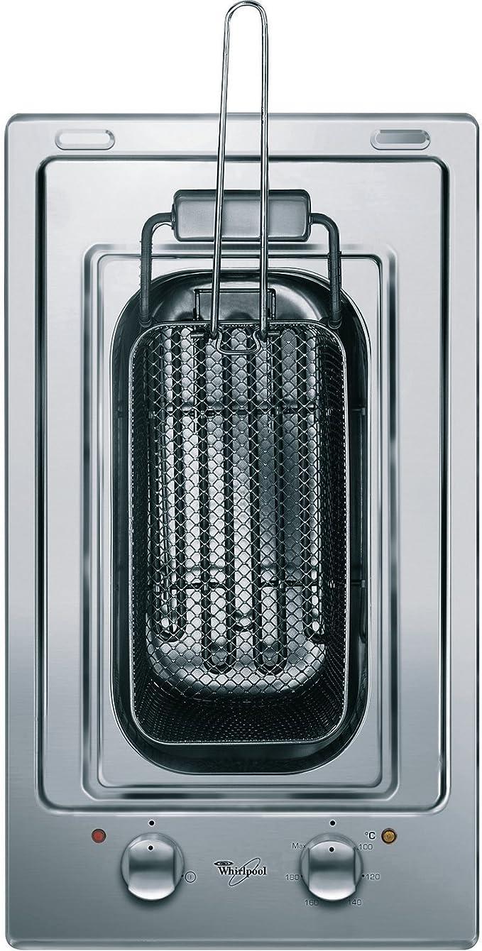 Whirlpool AKT 326 IX Solo 1600W Acero inoxidable - Freidora (Solo, Acero inoxidable, 1600 W, 6 kg, 290 x 510 x 10 mm, 1600 W): Amazon.es: Hogar