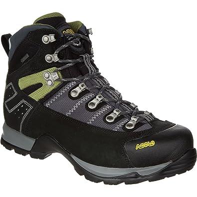 Asolo Men's Fugitive GTX Hiking Boots, Black / Gun Metal, 11.5 D(M) US