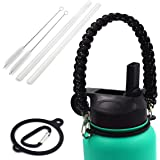 Vanteen Straw Lid with Handle for Hydro Flask Wide Mouth Sports Water Bottle