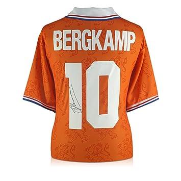 exclusivememorabilia.com 1994 Camiseta de casa Holandesa firmada por Dennis Bergkamp