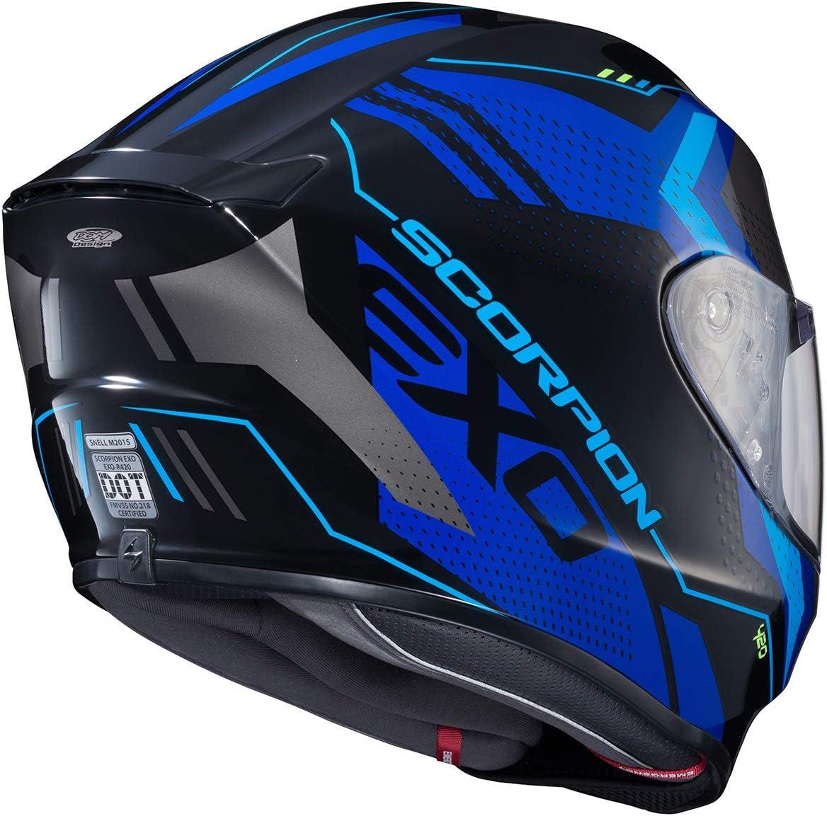 Blue Seismic Scorpion R420 Helmet XX-Large