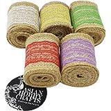 Asian Hobby Crafts Jute Lace Burlap