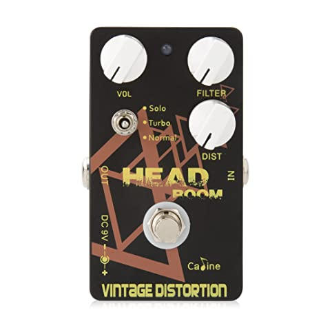 Caline Red Devil Pedals CP-30 Guitar Effects Modern Heavy Distortion Dual Pedal