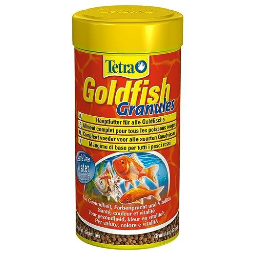 5 opinioni per Tetra Goldfish Granules- 250 ml