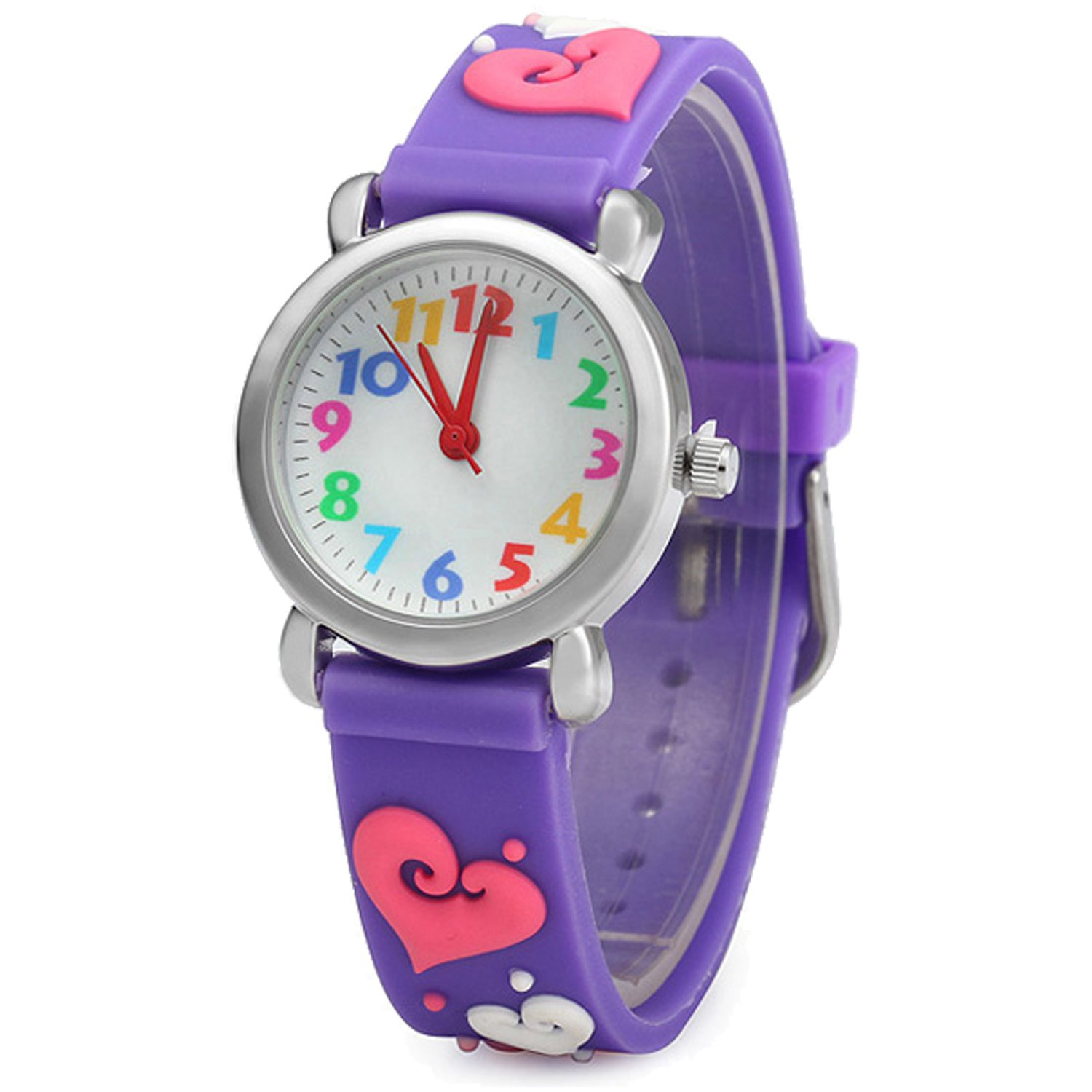 color is stripe children baby new wrist kids cartoon girl itm image s loading boy rainbow watches watch
