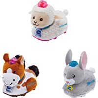 Vtech Baby 80-245304 - Tip Tap Baby Tiere - Set 8 (Plüsch-Schaf, Plüsch-Hase, Plüsch-Pferd),