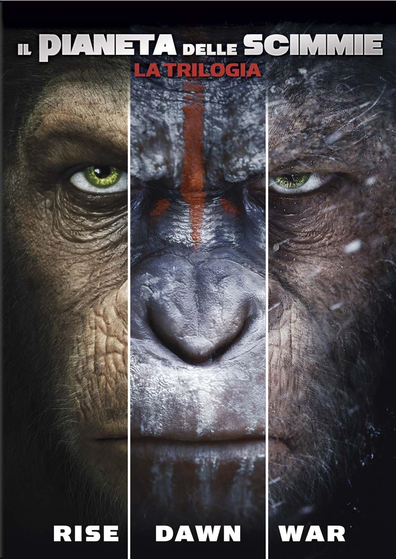 Il Pianeta Delle Scimmie La Trilogia 3 Dvd Amazonit Rupert