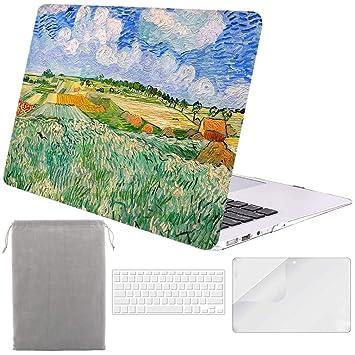Amazon.com: Sykiila - Funda rígida para MacBook Air de 13 ...