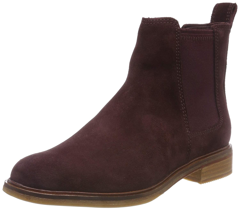 98339f29812a34 Clarks Damen Clarkdale Arlo Chelsea Boots  Amazon.de  Schuhe   Handtaschen