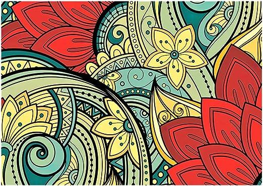 Puzzle 300/500/1000 Piezas geométricas Pintura Rompecabezas Creativo Apasionado española Flores - Difícil estrés Gran Rompecabezas educativos Alivio de Juguete for Adultos niños (Size : 500pcs): Amazon.es: Hogar