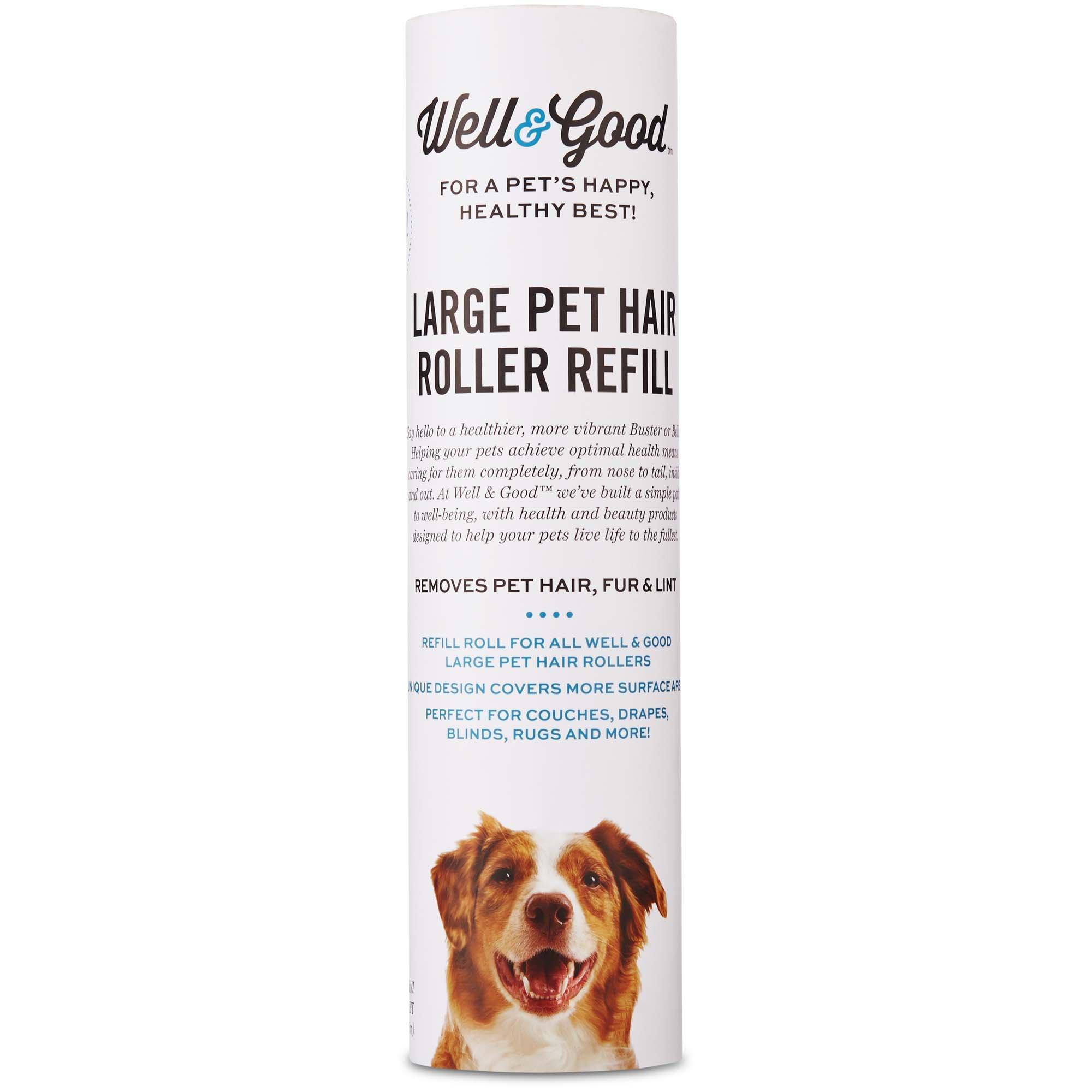 Well & Good Pet Hair Roller Refill, 50CT