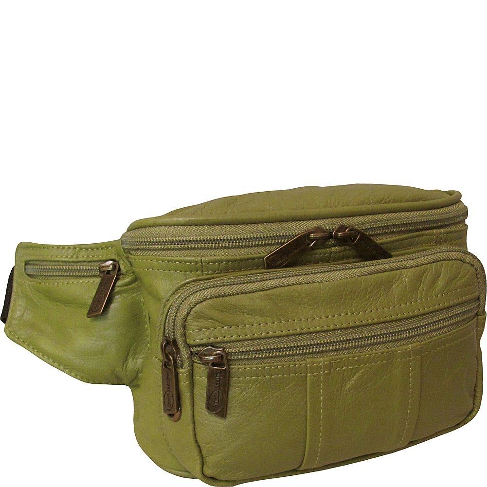 AmeriLeather Easy Traveller Fanny Pack 7340-7 Lime