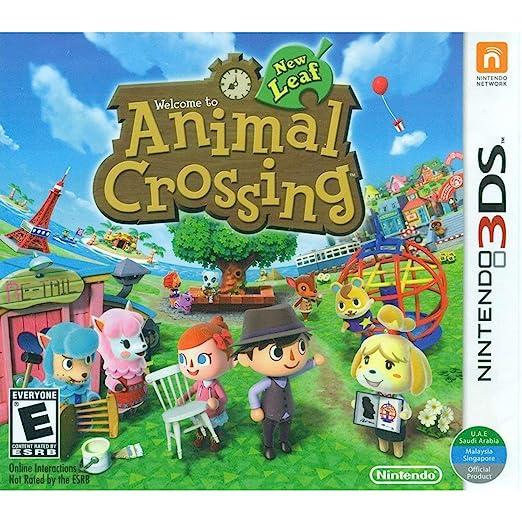 Animal Crossing New Leaf, 3DS