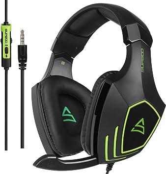 SUPSOO G820 Xbox One PS4 Estéreo Juego Auriculares Bass Gaming ...
