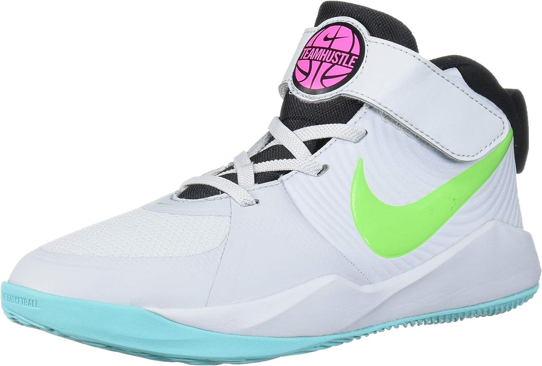 Nike Unisex-Child Team Hustle D 9 Pre School Basketball Shoe