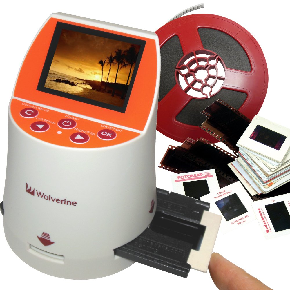 Wolverine F2D Mighty 20MP 7-in-1 Film to Digital Converter by Wolverine