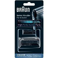 Braun 10B Pack de Recambio para Afeitadora Eléctrica Hombre Series 1/Freecontrol/CruZer con Láminas de Recambio y…