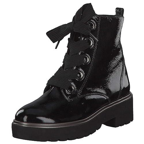 Green 9432 005 Aus Lackleder Paul Sportiver Lederinnenausstattung Damen Boots QdxtshrC