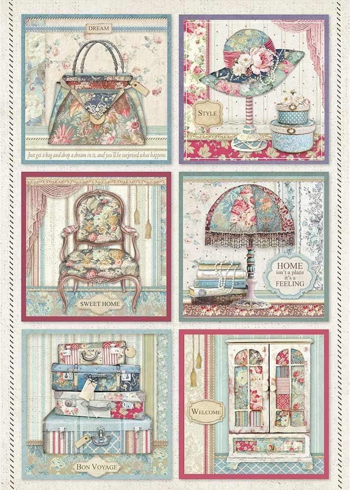 12 x 12 Paper Pad Grand Hotel Stamperia