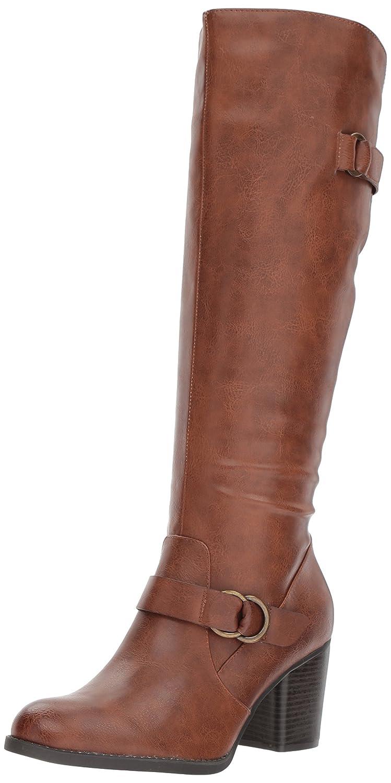 NATURAL SOUL Women's Trish Knee High Boot B076DP53C4 8.5 B(M) US|Brown
