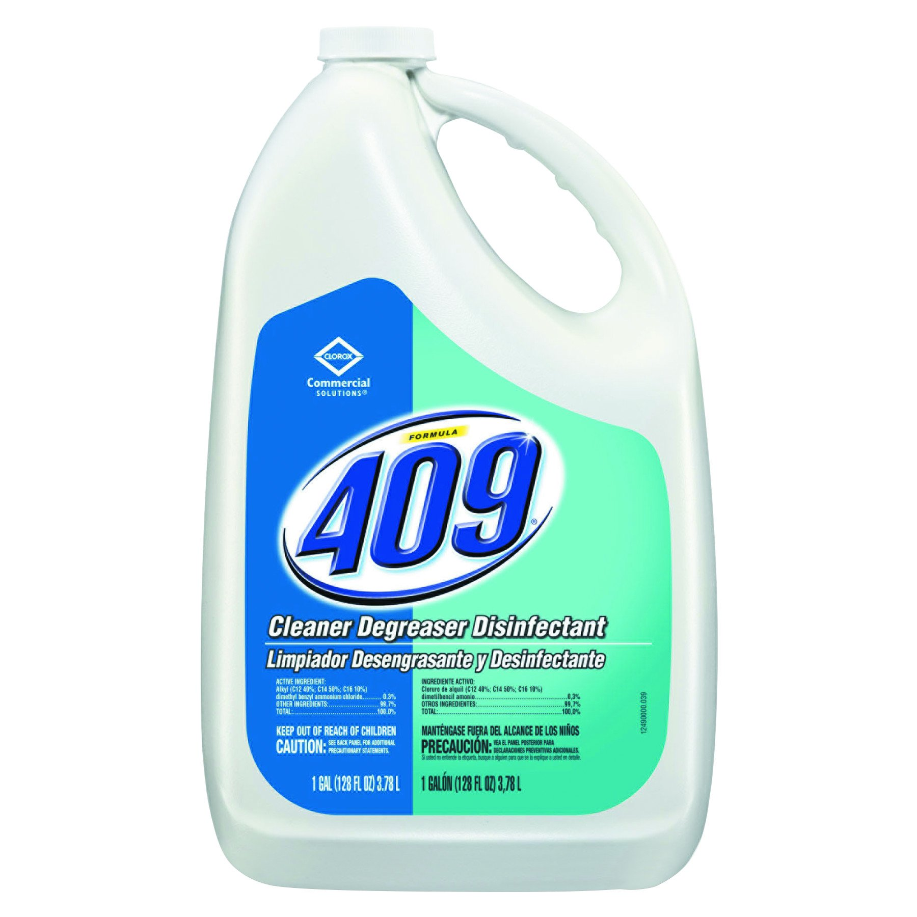 Formula 409 35300CT Cleaner Degreaser Disinfectant, Refill, 128 oz (Case of 4)