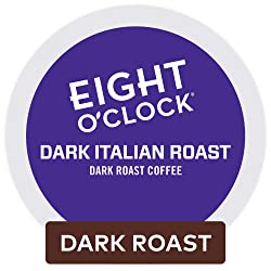Eight O'Clock Dark Italian Roast K-Cup Pod